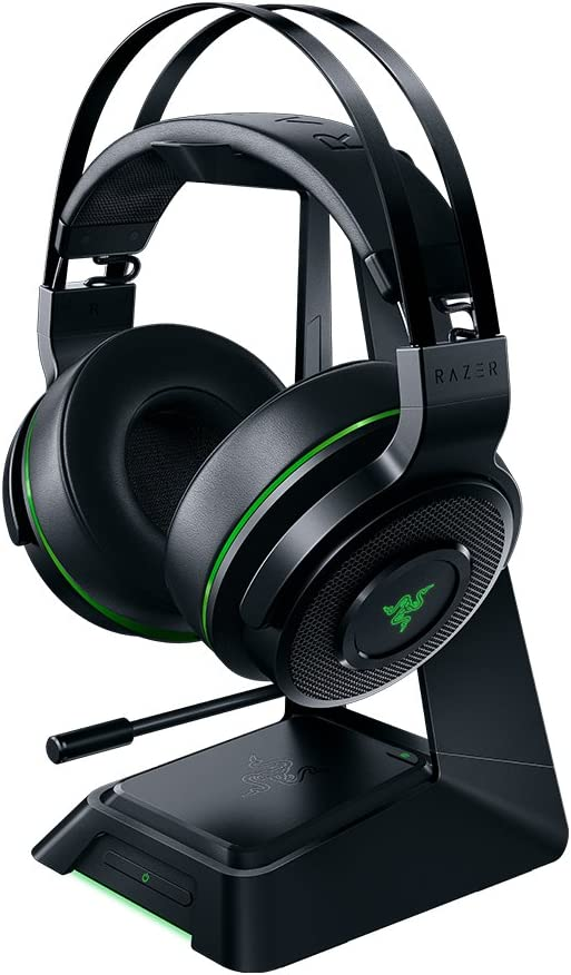 Razer Thresher Ultimate for PS4 Dolby 7.1 Surround Sound Lag-Free Wireless Connection Retractable Digital Microphone Gaming Headset Works with PC//PS4