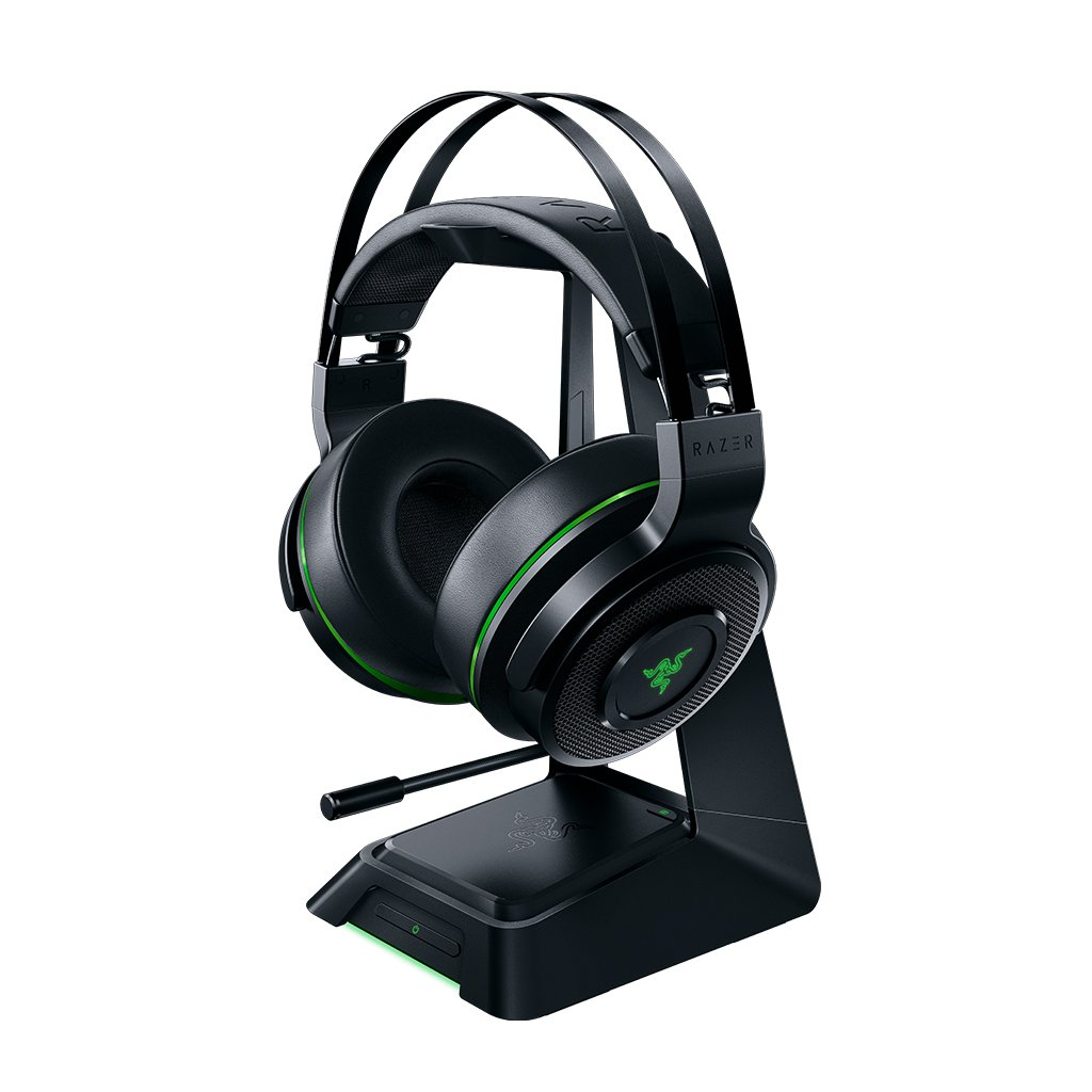 Razer Thresher for Xbox One: Windows Sonic Surround - Lag-Free Wireless Connection - Retractable Digital Microphone - Gaming Headset Works with PC & Xbox One RZ04-02240100-R3U1