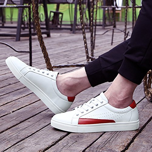 Autunno Dimensione donna uomo da da 49 corsa Casual up Comfort Lace Lovers viaggio Sneakers Colore Leather Bianca Inverno Bianca Scarpe Scarpe Primavera qzHwtSaw