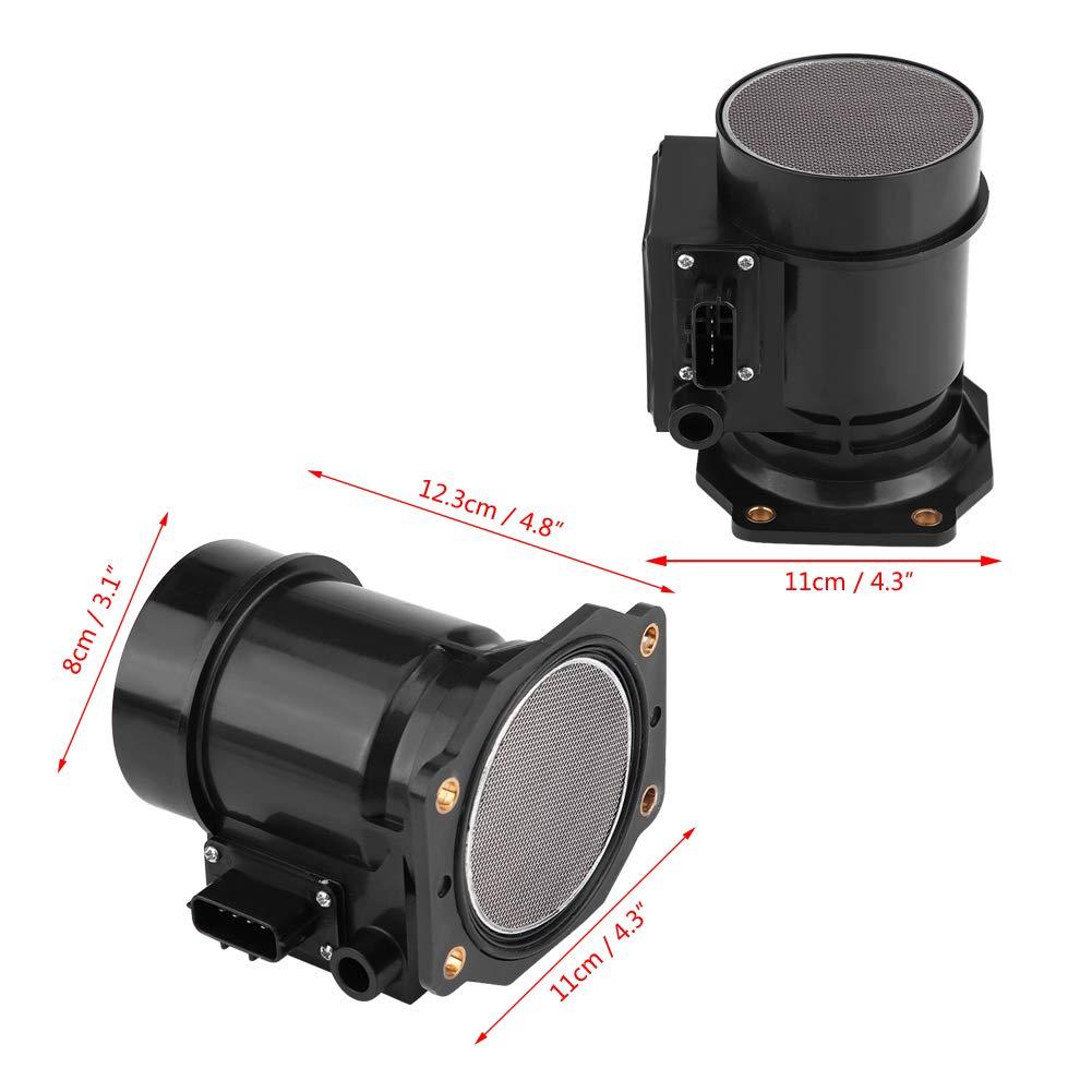 Duokon Ejoyous Mass Air Flow Sensor Meter,Car Mass Air Flowmeter Sensor for Skyline JDM R32//R33 RB20DET 1989-1995 22680-02U00