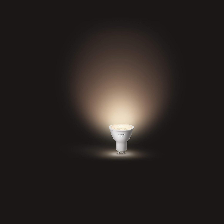 White 5.5 W Philips Hue GU10 Smart Light Bulb
