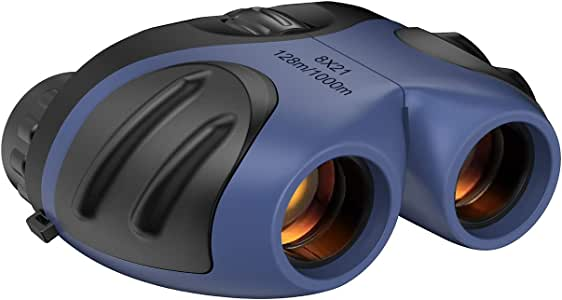Dreamingbox Compact Shock Proof Binoculars for Kids - Festival Gifts