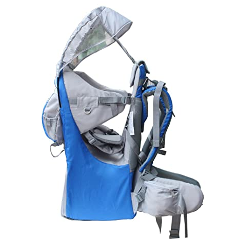 7d2a8d99c84 New Baby Toddler Hiking Backpack Carrier Camping Child Carriers with Rain  Cover Stand Child Kid Sun shade Visor Shield