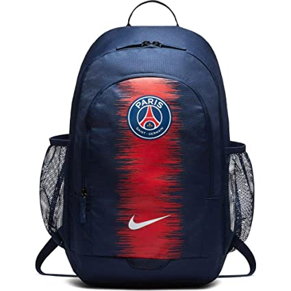 5dbd30caae Amazon.com : NIKE 2018-2019 PSG Stadium Backpack (Navy) : Sports & Outdoors