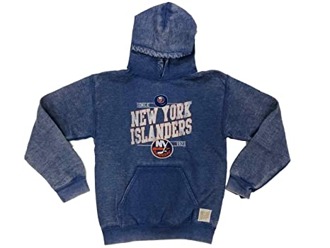 3b00fc34a New York Islanders Retro Brand Women Vintage Pullover Hoodie Sweatshirt (S)