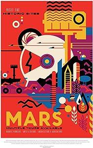 Mars Visit The Historic Sites NASA Space Travel Cool Wall Decor Art Print Poster 12x18