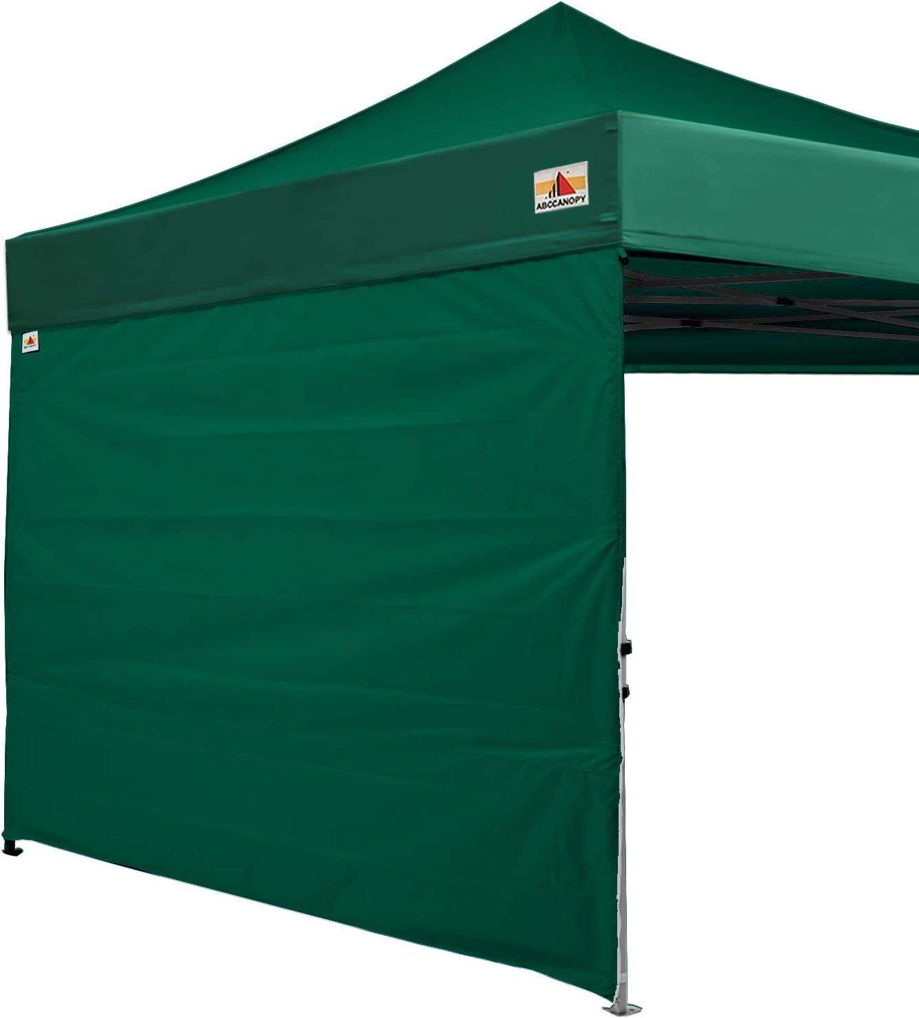 1 Pack Sidewall Only ABCCANOPY Instant Canopy SunWall for 8x8 Feet Straight Leg pop up Canopy Red