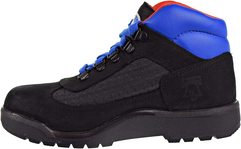 Timberland Kids Boys Philadelphia 76ers Field Boot Black Fabric//Leather 5 Big Kid M Big Kid