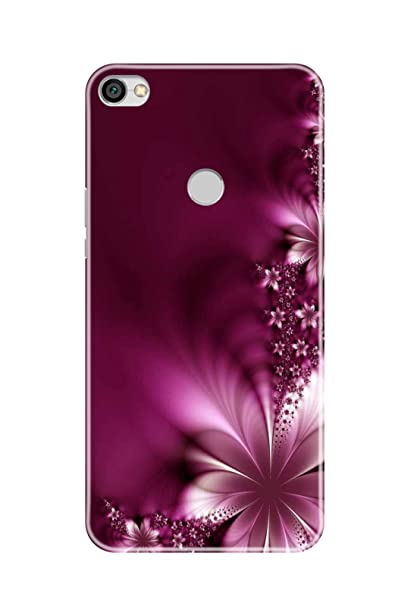 online retailer 16516 d72f1 Hupshy Printed Back Cover for Redmi Y1 - Multicolor