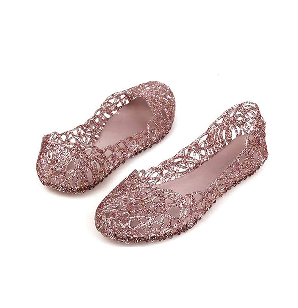 LICII Women Summer Shoes Loafers Casual Slip-on Sandals Slippers Jelly Shoes