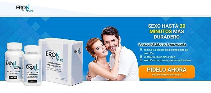 ✅ERON Plus Premium, potencia, erección, pastillas de potencia, paquete básico 2x60 cápsulas / 2x650 mg: Amazon.es: Salud y cuidado personal