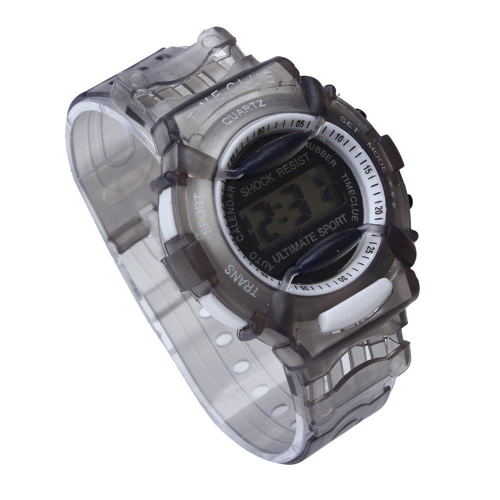 SMTSMT Students Waterproof Digital Wrist Sport Watch - Grey by SMTSMT (Image #2)