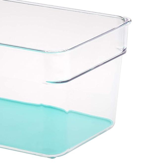 AmazonBasics - Recipientes de frigorífico con asas, pequeños ...