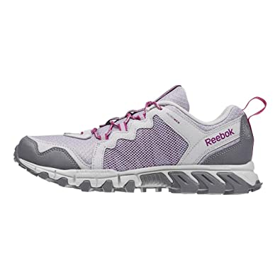 Womens Shoes Reebok Trail Grip 4.0 RS Lavender Grey/Steel/Shark/Fierce Fuchsia