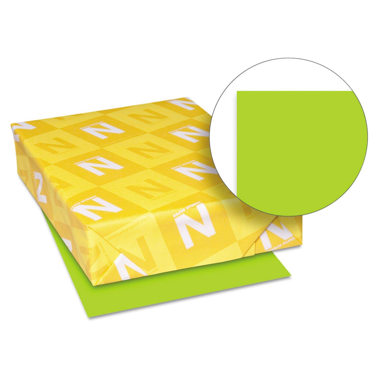 Neenah Paper 21859 Color Paper, 24lb, 8 1/2 x 11, Vulcan Green, 500 Sheets