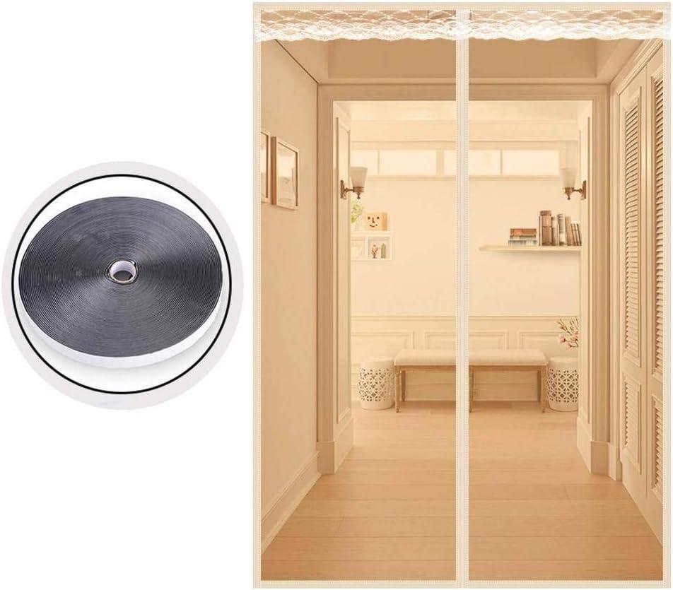 ZFHTAO Cortina magnética para Mosquitera Puerta Evita el Paso de Insectos para Puerta para balcón Puerta de terraza - D 130x240cm(51x94inch): Amazon.es: Hogar