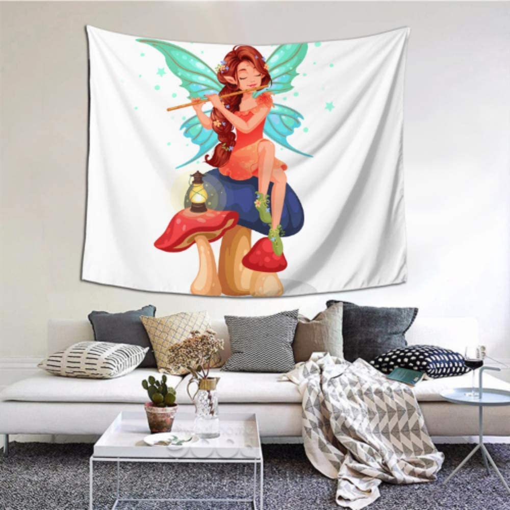 Amazon Com Room Wall Art Decor Dream Fantasy Magic Wand Tapestry Rugs 60x51 Inches 152x130cm Wall Hanging Art Home Decor Polyester For Living Room Bedroom Dorm Home Kitchen