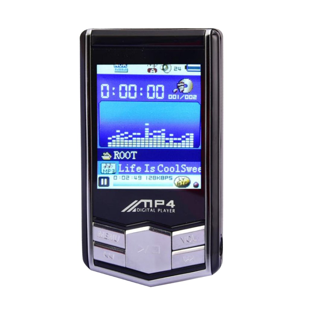 Homyl 1 Pieza de Reproductores de MP3 MP4 de 32GB Radio con LCD Pantalla Regalo