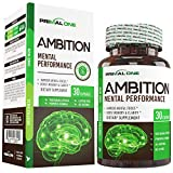 Ambition Nootropic Brain Booster Supplement - Enhance Focus, Boost Memory & Clarity