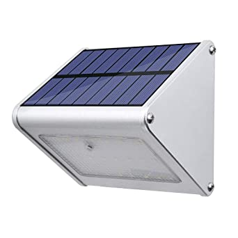 Lexonelec Solar Light 24 Led Motion Radar Sensor Sicherheit Aluminium Legierung Wasserdicht Solar Powered Lights 450 Lumen Für Outdoor Garten