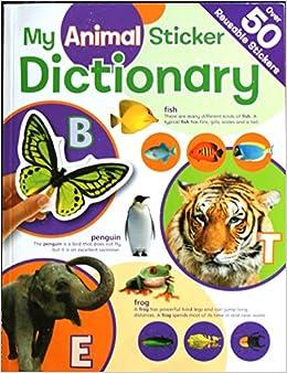 My Animal Sticker Dictionary