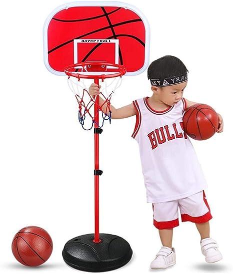 1.7m Adjustable Basketball Indoor Outdoor Play Net Hoop Set For Kids Sport Toys
