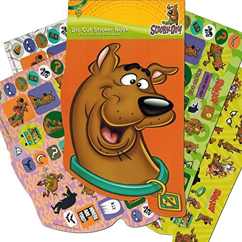 Scooby-Doo Stickers Activity Set ~ 16 Large Scooby-Doo Paint with Water Pages, Paint Brush, Stickers and Temporary Tattoos (Party Pack)