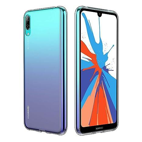 Simpeak Funda para Huawei Y7 Pro 2019, Funda Transparente ...