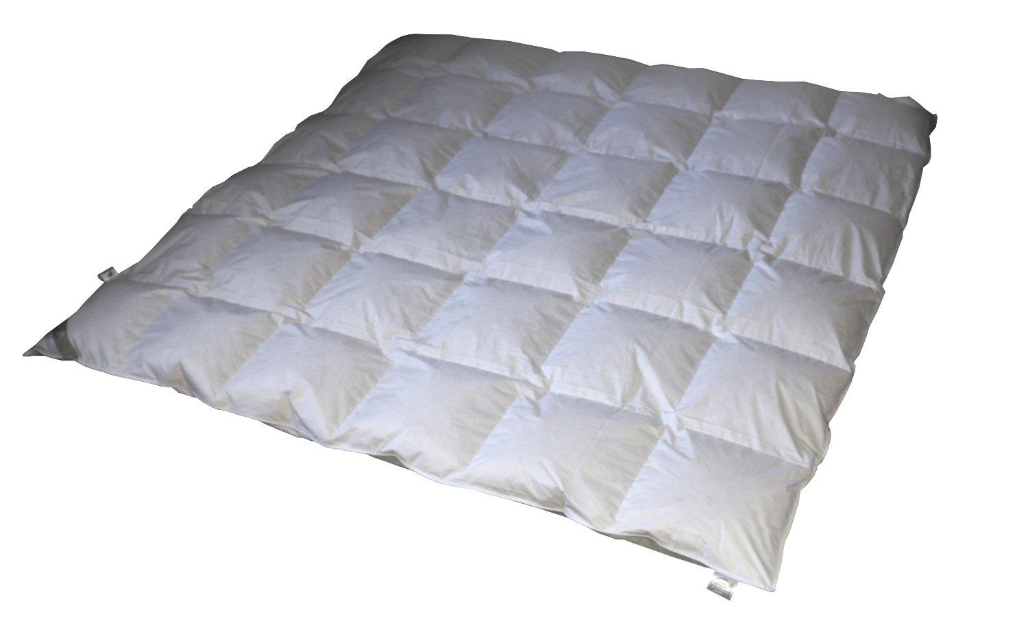 Betten Hofmann Kuscheliges Daunenbett Daunendecke 6x7 240x220 cm warme Ganzjahresdecke