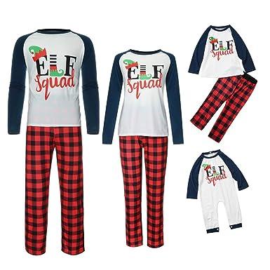 Navidad Ropa Niñas Unisex Pijamas Familiar Mujer Hombre con ...