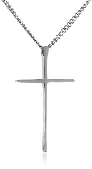 2 opinioni per Molto Piccolo, Ciondolo Croce, Unisex Collana con Pendente Croce da Uomo da