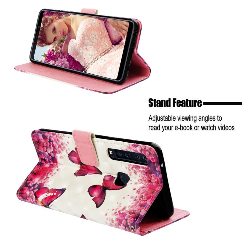 A9S Einfarbiger Flip PU Leder Handyh/ülle Klappbares Brieftasche Schutzh/ülle Stand Wallet Case Cover Tasche mit Karteneinschub Meer A9 Star Pro 2018 H/ülle f/ür Samsung Galaxy A9