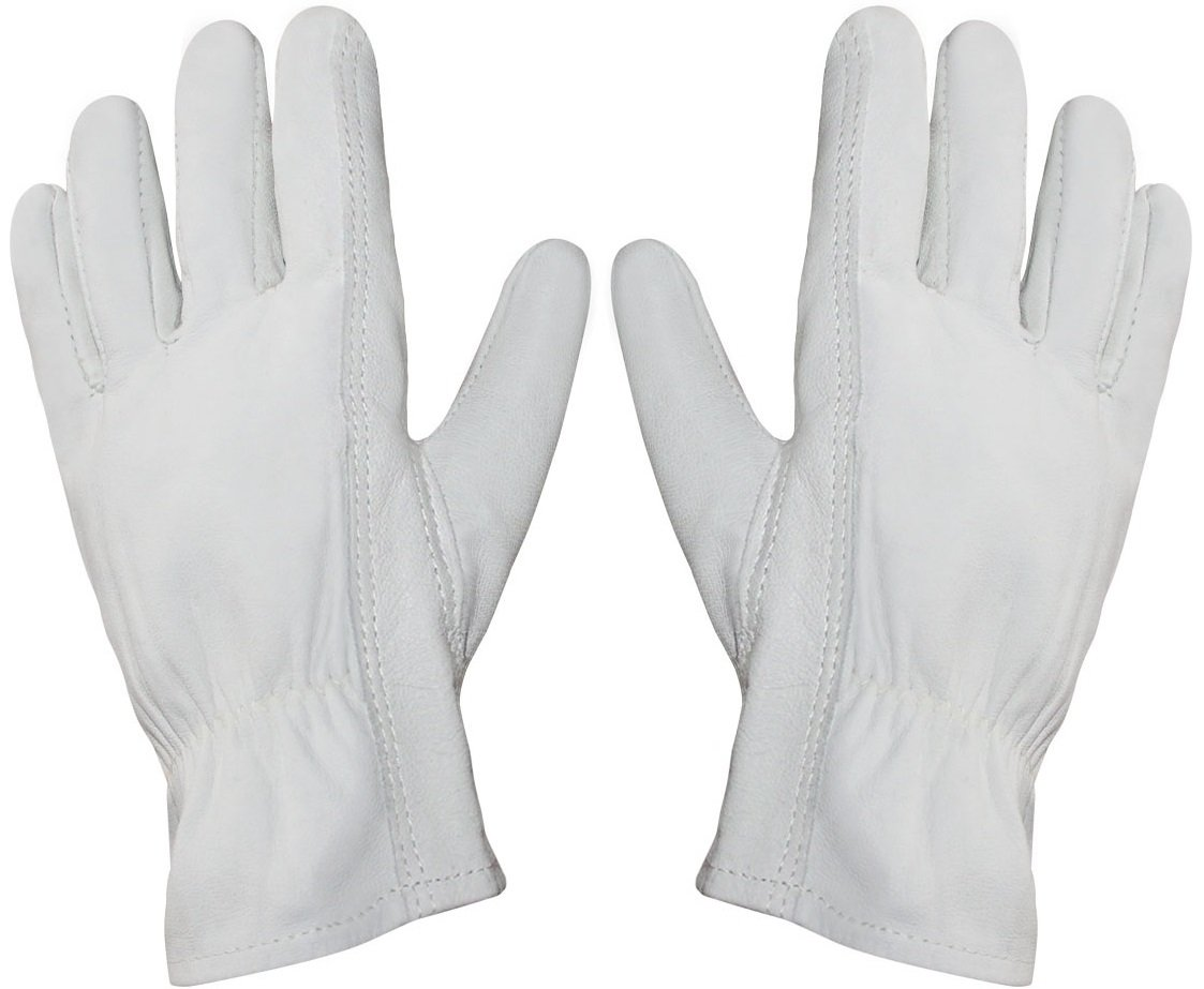 Garden Perfect Cowhide Leather Gardening Gloves for Men and Women (Size Small)