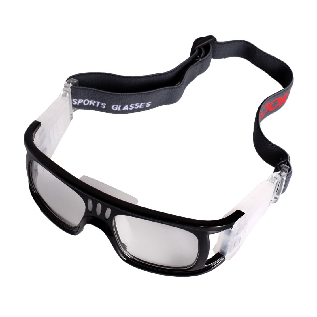 98e27c43115f Amazon.com   Andux Basketball Soccer Football Sports Protective Eyewear  Goggles Eye Safety Glasses LQYJ-01 (Black)   Sports   Outdoors
