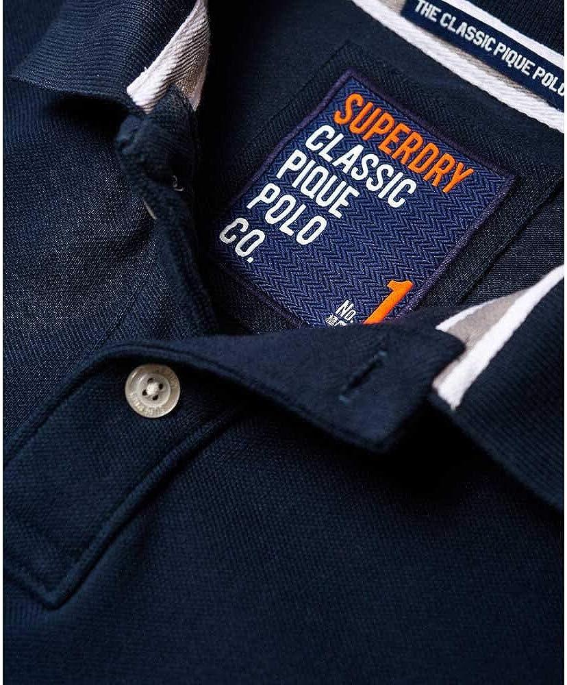 Superdry Classic Pique S/S Polo Hombre: Amazon.es: Ropa y accesorios