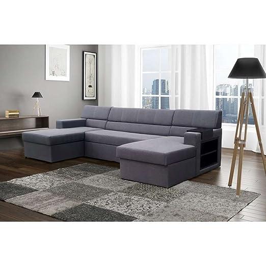 Just Home Markos sofá de la tapicería de la esquina de sofás ...