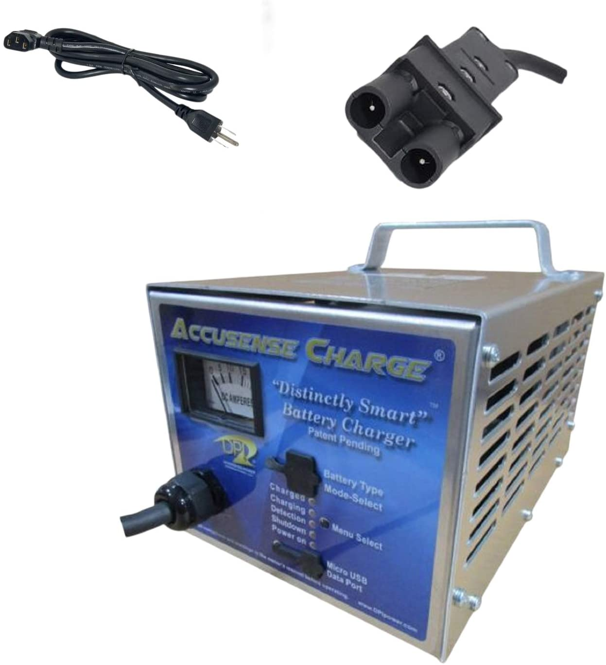 Amazon.com : 48volt 17amp Golf Cart Battery Charger for Yamaha : Golf Cart  Accessories : Sports & Outdoors | Dpi 48v Charger Wiring Diagram |  | Amazon.com