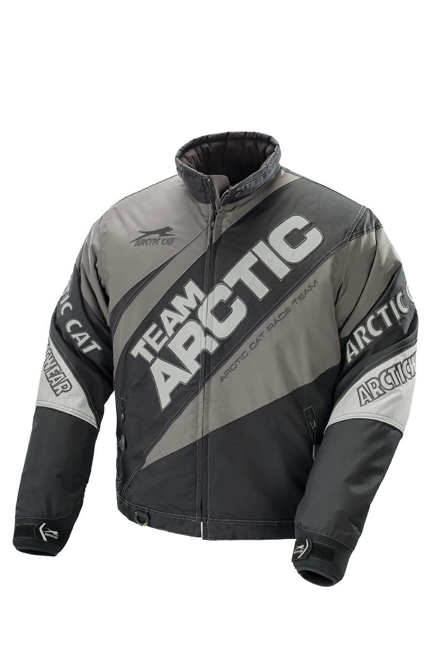 Arctic Cat Jacket Team Arctic Lime/Gray Youth 8