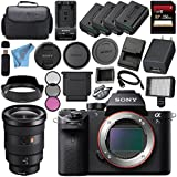 Sony ILCE7SM2/B Alpha a7S II Mirrorless Digital Camera (Body Only) + Sony FE 16-35mm f/2.8 GM Lens SEL1635GM + 256GB SDXC Card + NP-FW50 Lithium Ion Battery + External Rapid Charger Bundle