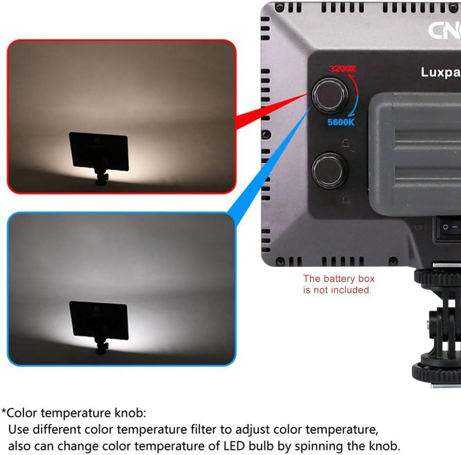 Andoer® Luxpad 22 Pro Ultra Thin 112-LED 11W Video Light Pad Pad ...