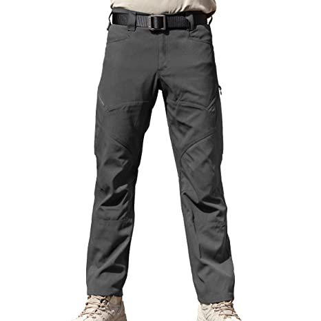 FREE SOLDIER Arbeit Cargo Hose – Herren Tactical Outdoor Leicht  Wasserabweisend Elastische Taille Multi Taschen Combat Pants  Amazon.de   Sport   Freizeit 4adc73abe7