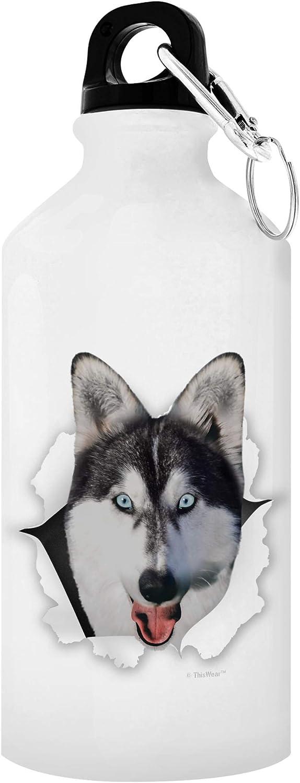 Husky/'s Hair of the Dog Laser Engraved Drink Flask Husky Flask Husky Dog Dog Owner Gift 6 oz Stainless Steel Flask