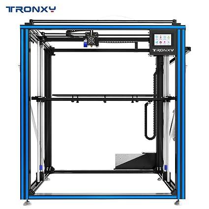 Impresora 3D TRONXY X5SA-500, nivelación automática, sensor de filamento, curriculum vitae de impresión, cubo cuadrado de metal completo con tamaño de impresión súper grande 500 * 500 * 600: Amazon.es: Industria, empresas y ciencia
