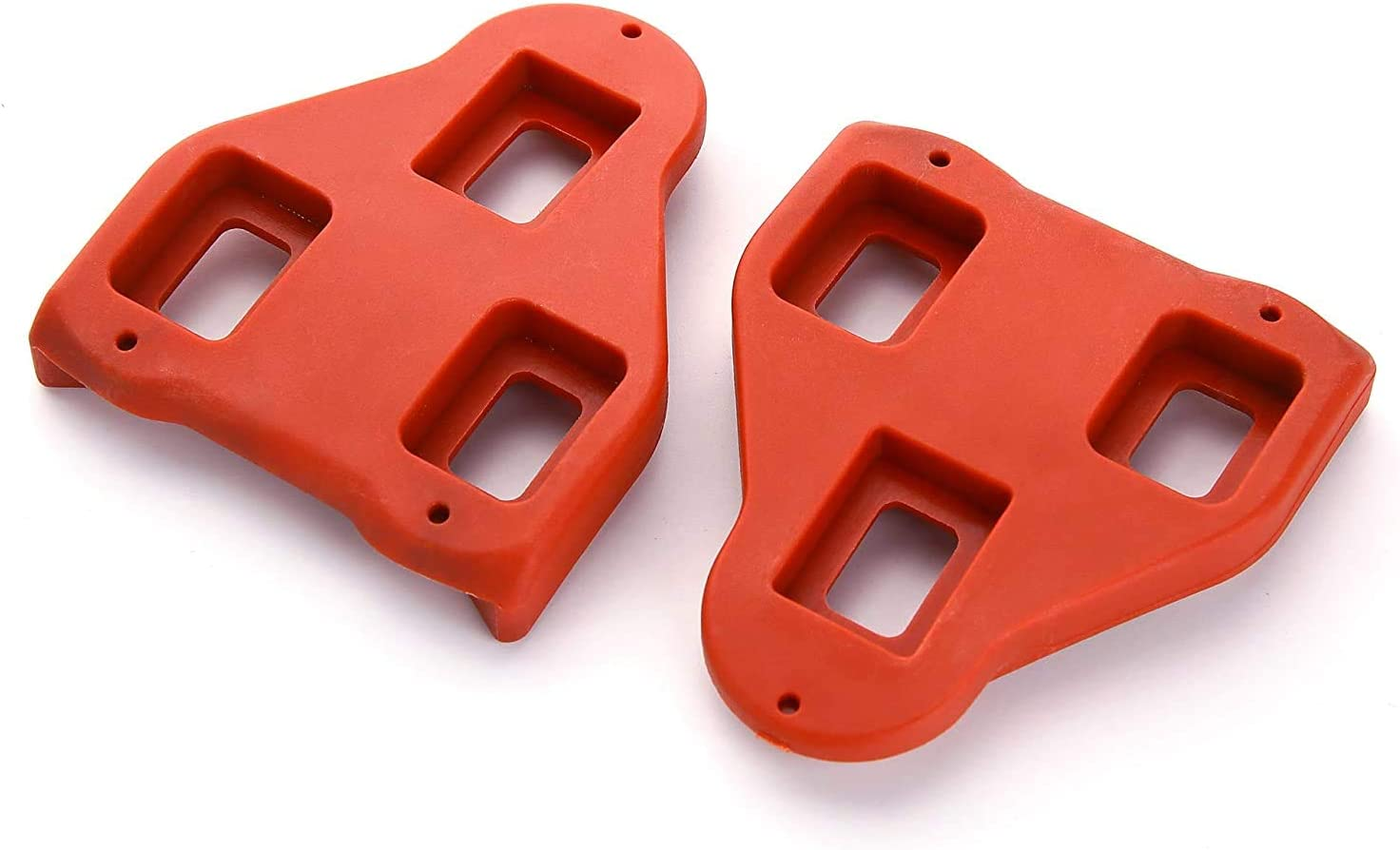 2 Pack 9/° Degree Float -Indoor Cycling Peloton Pedals /& Spining Class Cycle Cleat Pzikork Road Bike Cleats Compatible with Look Delta