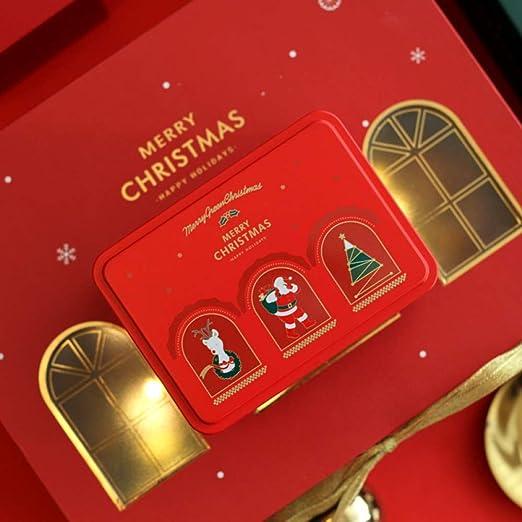 gousheng Caja De Navidad Caja Caja De Navidad Caja De Lata De ...