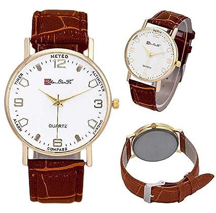 Limpieza de venta! Relojes para hombre, reloj de cuarzo ICHQ para hombres analógico de