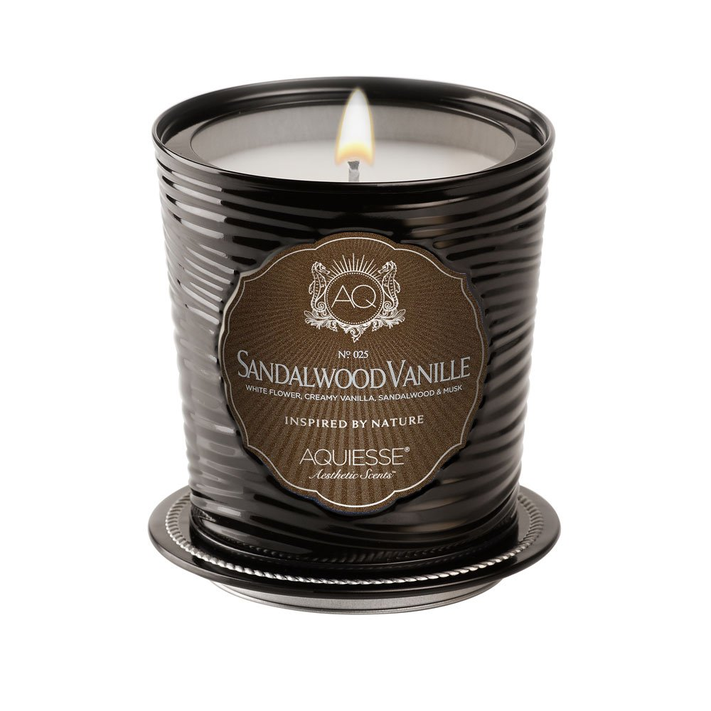 Aquiesse Sandalwood Vanille Luxe Tin Candle by Aquiesse