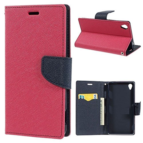 CEDO Magnetic Lock Wallet Style Flip Cover for Samsung Galaxy On5 Pro/On5  Pink