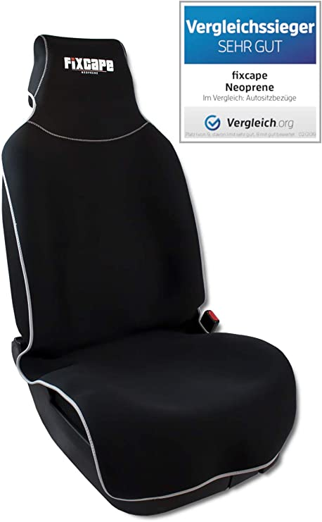 Coprisedili per Auto Anteriori Universali Coperture Sedile Impermeab grigio