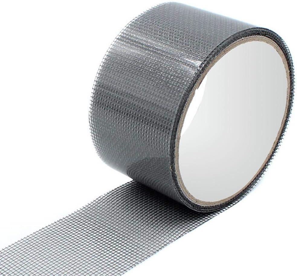 Noir//Gris coil.c Kit De R/éparation D/écran De Fen/être Patch De R/éparation De Ruban Adh/ésif Solide pour Porte De Fen/être daccueil